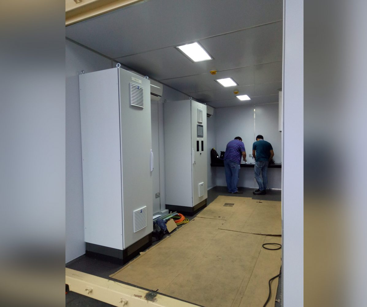 MOGE Project Container Controls Room